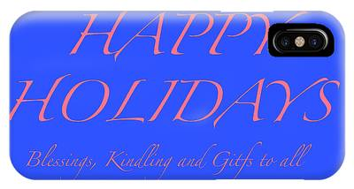 Happy Holidays - Day 7 IPhone Case