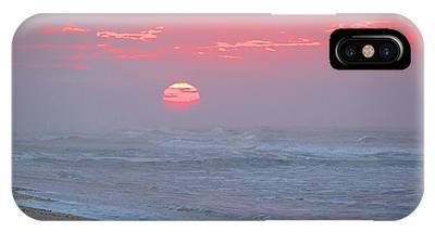 Hazy Sunrise I I IPhone Case