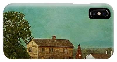 Henry House At Manassas Battlefield Park IPhone Case