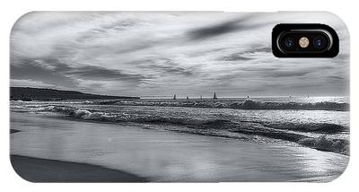 Hermosa Evening Black And White IPhone Case