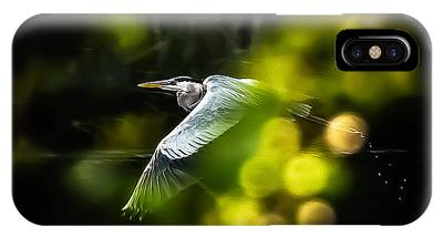 Heron Launch IPhone Case