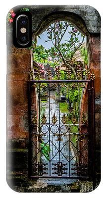 Bali Gate IPhone Case