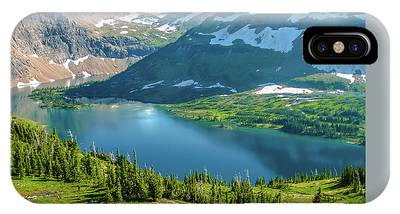 IPhone Case featuring the photograph Hidden Lake Glacier National Park by Benny Marty