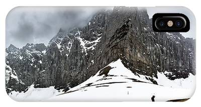 Hiking In The Alps IPhone Case