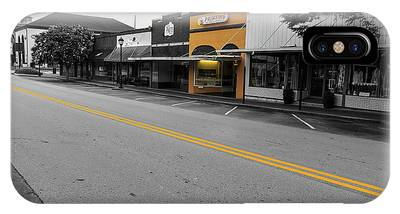 Historic Buford In Selective Color IPhone Case