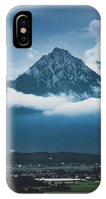 Hochstaufen And Zwiesel Mountain Peaks IPhone Case by Andy Konieczny