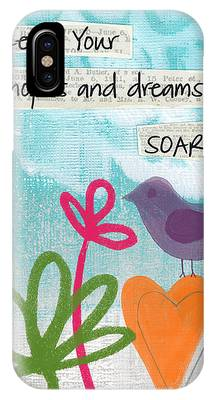 Bird Abstracts Phone Cases