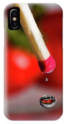 Hot Pepper Drops IPhone Case