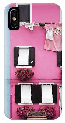 Pink House Phone Cases