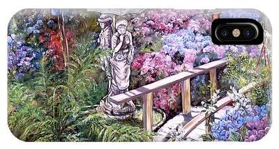 Hydrangea In The Formosa Gardens IPhone Case