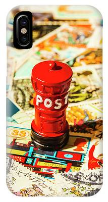 Iconic British Mailbox IPhone Case by Jorgo Photography - Wall Art Gallery