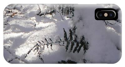 Icy Fern IPhone Case