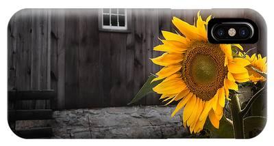 New England Barn Photographs iPhone Cases