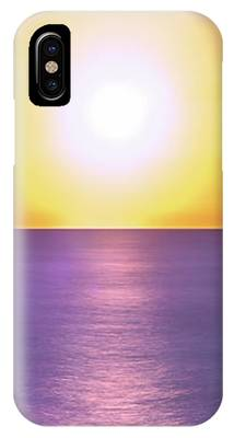 Incredible Sunset Over Sea IPhone Case by Michael Goyberg
