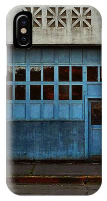 IPhone Case featuring the photograph Industrial Blue by Patricia Strand