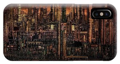 Industrial Psychosis IPhone Case