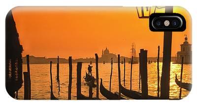 IPhone Case featuring the photograph Italy Venice Riva Degli Schiavoni , Canale Grande Riva Degli Sch by Juergen Held