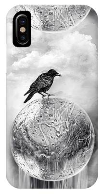 It's A Crow's World IPhone Case