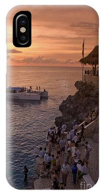 IPhone Case featuring the photograph Jamaica Negril Ricks Cafe by Juergen Held