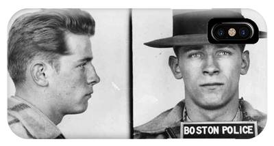 James Whitey Bulger Mug Shot 1953 Horizontal IPhone Case