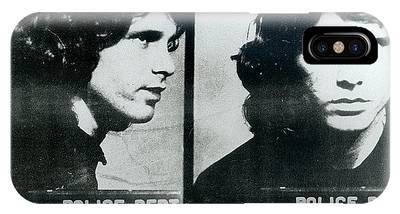 Jim Morrison Mug Shot Horizontal IPhone Case