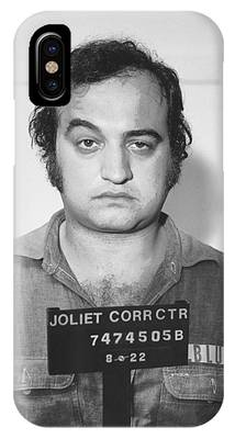 John Belushi Mug Shot For Film Vertical IPhone Case