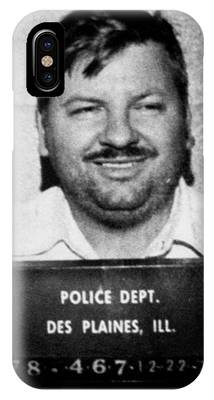John Wayne Gacy Mug Shot 1980 Black And White IPhone Case