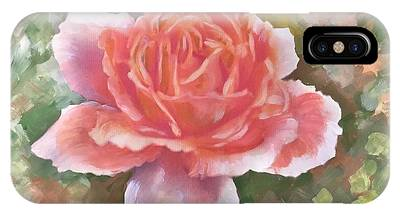 Just Joey Rose From The Acrylic Painting IPhone Case