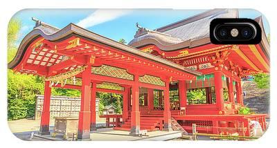 IPhone Case featuring the photograph Kamakura Tsurugaoka Hachiman by Benny Marty