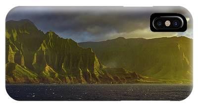 Kauai Golden Sunset IPhone Case