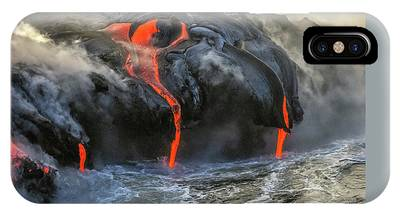 IPhone Case featuring the photograph Kilauea Volcano Hawaii by Benny Marty