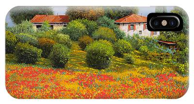 Farm Paintings iPhone Cases