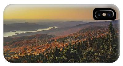 IPhone Case featuring the photograph Lake Tremblant At Sunset by Andy Konieczny
