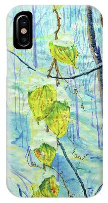 Last Of The Leaves IPhone Case