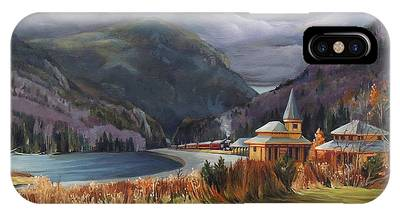 Last Train To Crawford Notch Depot IPhone Case