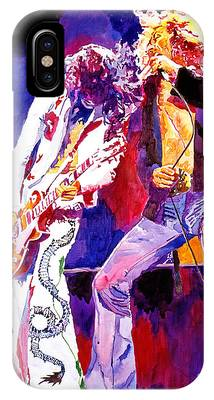 Rock Music Jimmy Page Phone Cases