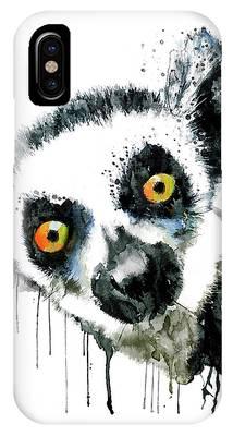 Lemur Phone Cases