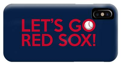 Let's Go Red Sox IPhone Case
