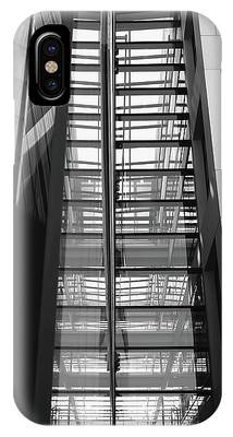 IPhone Case featuring the photograph Library Skyway by Rona Black