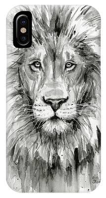 Lion Art Phone Cases