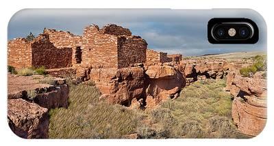 Lomaki Pueblo Ruins IPhone Case