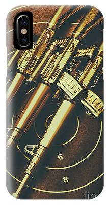 IPhone Case featuring the photograph Long Range Tactical Rifles by Jorgo Photography - Wall Art Gallery