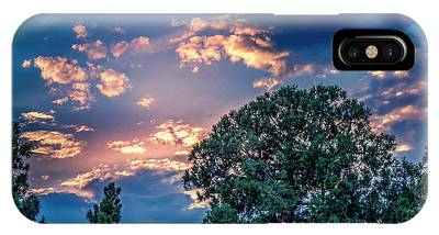 Looking West At Sunset IPhone Case