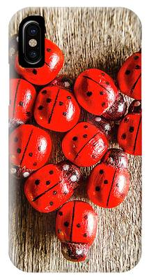 IPhone Case featuring the photograph Love Bug by Jorgo Photography - Wall Art Gallery