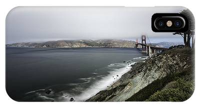 IPhone Case featuring the photograph Low Cloud by Chris Cousins