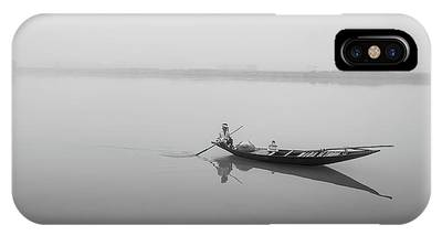 IPhone Case featuring the photograph Lower Ganges - Misty Morinings by Chris Cousins