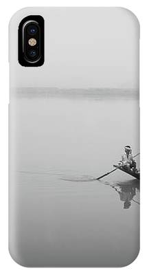 Lower Ganges - Misty Morinings IPhone Case by Chris Cousins
