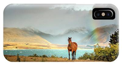 IPhone Case featuring the photograph Magical Tekapo by Chris Cousins