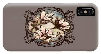 Magnolia Branch II IPhone Case