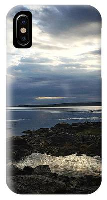 Maine Drama IPhone Case by LeeAnn Kendall